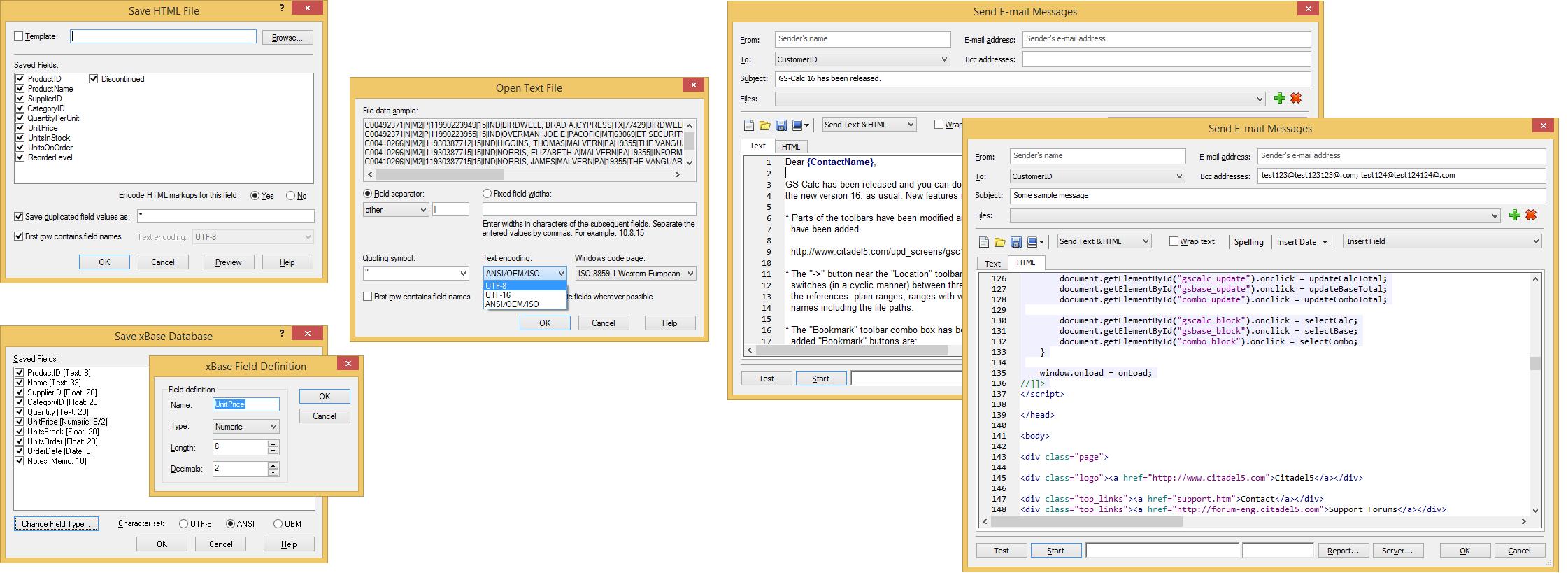 GS-Base x64 screenshot